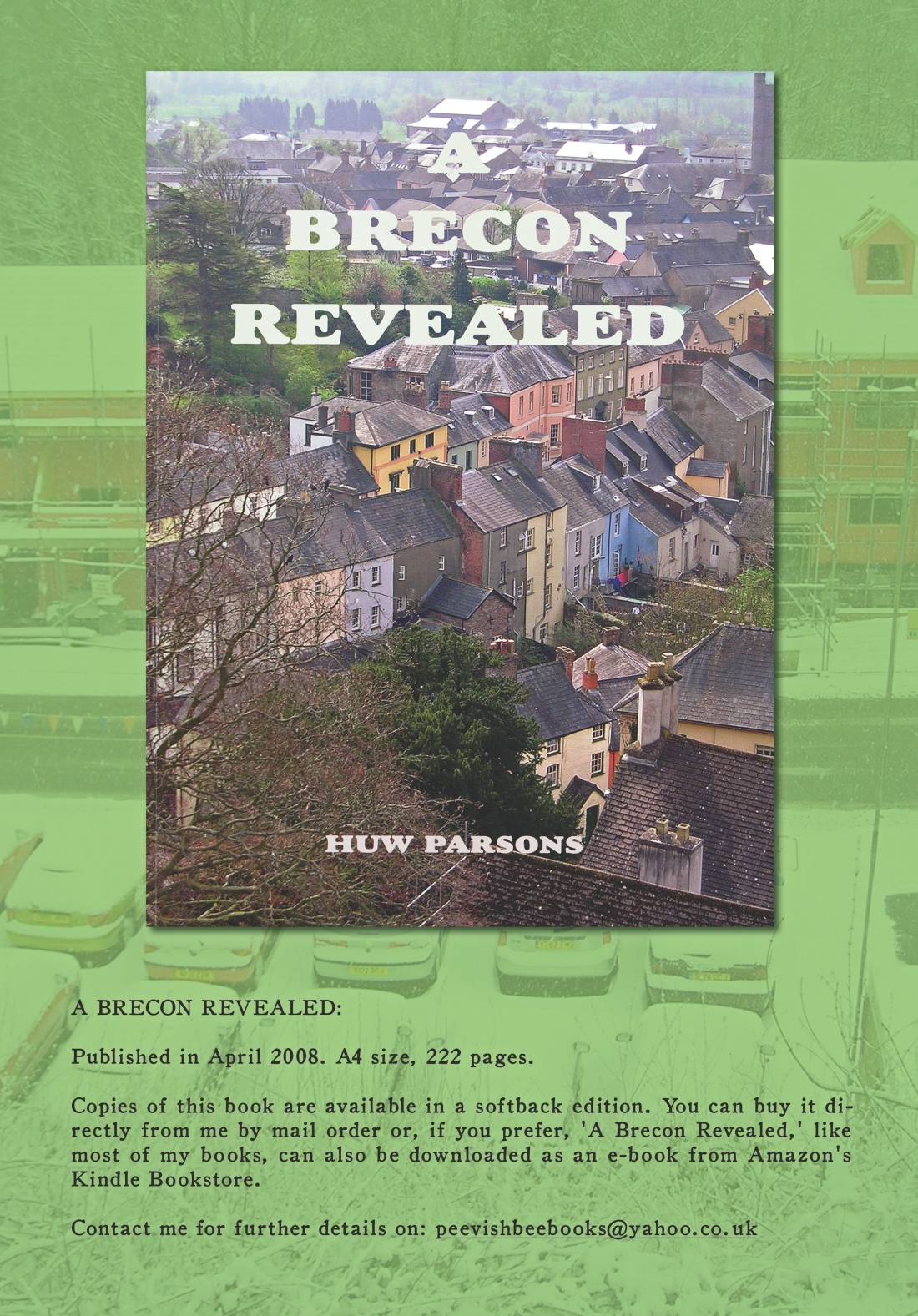 A Brecon Revealed Book Advert copy