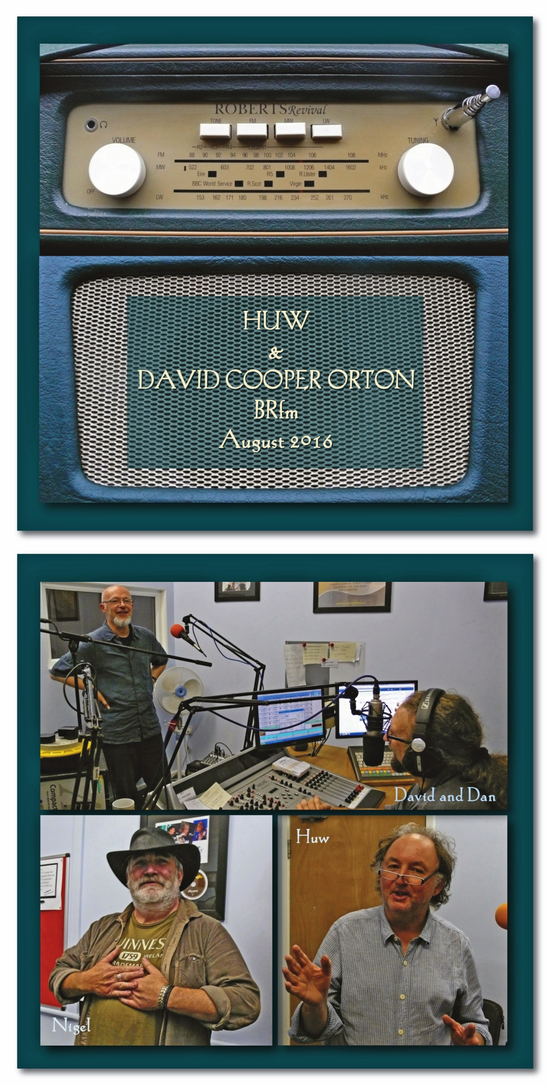 HUW & D.C.O PODACST TITLE PAGE