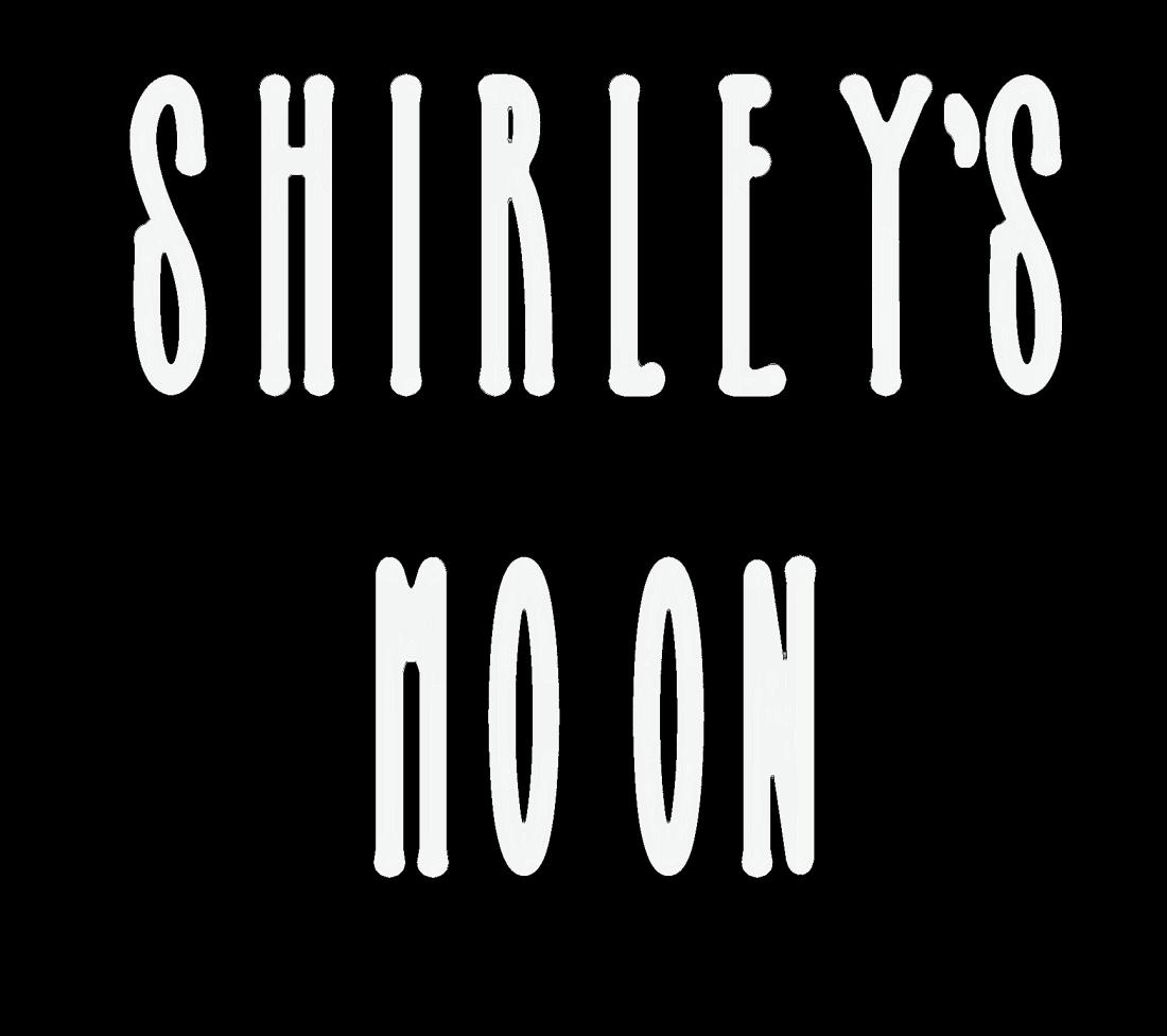 SHIRLEY'S MOON - selfish bitch paint daubs