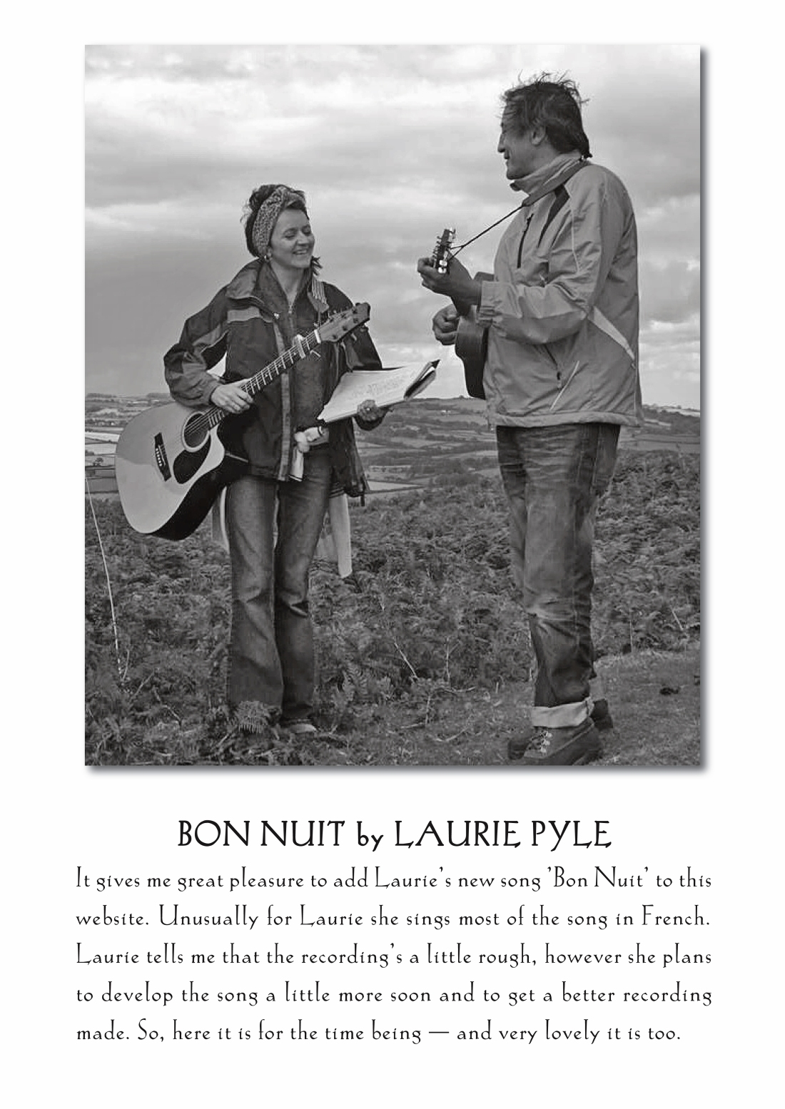 BON NUIT by LAURIE PYLE copy