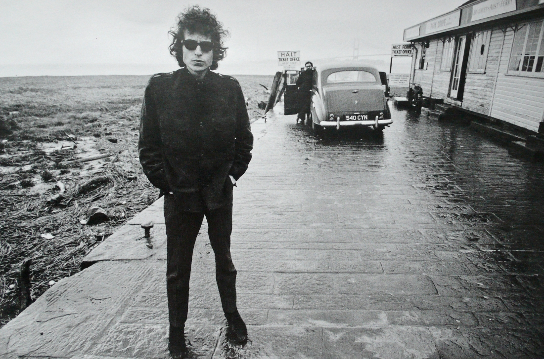 Bob Dylan, Aust Ferry, 1966, Photograph by Feinstein